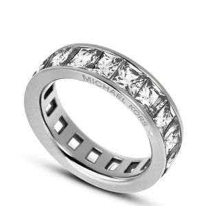 Michael Kors BRILLIANCE RING in silver